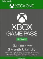 3 Month Xbox Game Pass Ultimate Xbox One / PC $23
