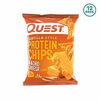 12-Pack 1.1-Oz Quest Nutrition Tortilla Style Protein Chips (Nacho Cheese)