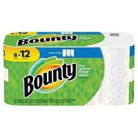 "8-Pack Bounty Select-A-Size 11""x5-15/16"" Giant Paper Towels"