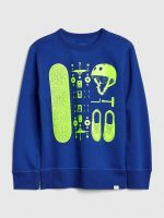 Gap: Extra 60% Off Select Markdowns: Boys Graphic Sweatshirt