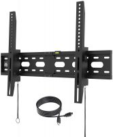 """Fortress Universal TV Wall Mount for 40-75"""" TV w/ 5' HDMI Cable"""