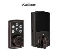 Kwikset Smartcode 888 Electronic Deadbolt w/ Z-Wave Technology (Satin Nickel)