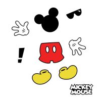 RoomMates Peel & Stick Decals: Mickey Mouse Icons