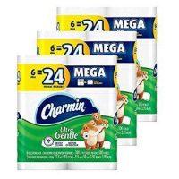 36-Count Charmin Mega Rolls Ultra Gentle Toilet Paper
