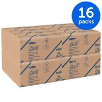 16-Pack Scott Natural 100% Recycled Multi-Fold Towels (250-ct each) $13 w/ S&S + Free Shipping