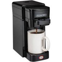 Proctor Silex Single Serve Coffee Maker (Black)