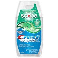 4.6-Oz Crest Complete Multi-Benefit Whitening w/ Scope Liquid Gel Toothpaste