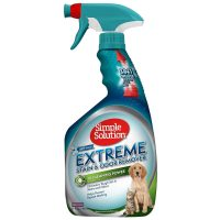 32oz. Simple Solution Extreme Pet Stain and Odor Remover (Spring Breeze)
