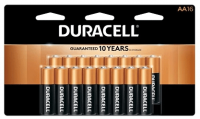 16-Pk Duracell Coppertop Batteries (AA/AAA) + 100% Back in Rewards