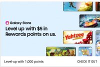 Samsung Rewards: Gamer Appreciation Get 1000 Points