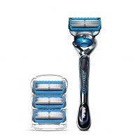 Gillette ProGlide Chill Men's Razor Handle + 4 Blade Refills - $10.50 @ Amazon