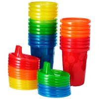 20-Count The First Years Take & Toss Spill Proof Sippy Cups w/ Lids