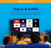 Sling TV: Select On-Demand Movies TV Series and ABC News Live