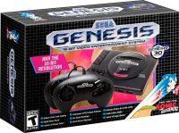 Sega Genesis Mini Console w/ 2 Controllers & 42 Games
