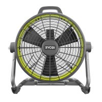 "Ryobi ONE+ 18 Volt Hybrid 18"" Air Cannon Drum Fan (Factory Blemished)"