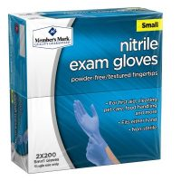 Sam's Club Members: Member's Mark Nitrile Exam Gloves (Assorted Sizes) :400count: $13.96