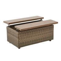 Adley River Wicker Storage Box / Coffee Table $69.99 + Free Shipping