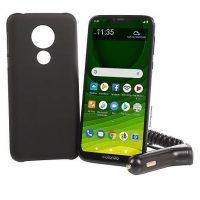 """Motorola Moto G7 Optimo Maxx 6.2"""" HD+ Tracfone + 1500 Min/Text/Data"""