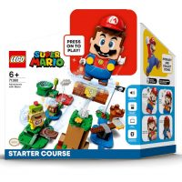 LEGO Super Mario: Starter Set + Mushroom Surprise Expansion Set Pre-Order