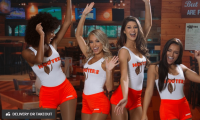 Hooters Restaurant: $15 Off $30+ Coupon Towards a Mobile Order