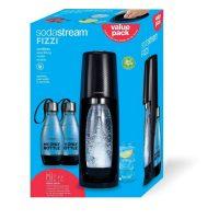 SodaStream Fizzi Soda Maker w/ CO2 Carbonator + 2 Extra Bottles