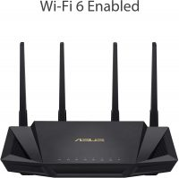 Asus AX3000 Dual-Band WiFi 6 Router w/ AiMesh Support