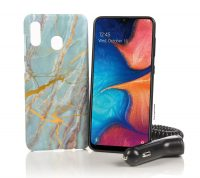 32GB Tracfone Samsung Galaxy A20 Smartphone w/ 1500 Talk/Text/Data
