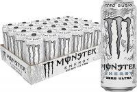 24-Pack 16oz Monster Energy Drink (Zero Ultra)
