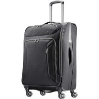 """American Tourister Zoom Expandable Softside Spinner Luggage: 28"""" $59 or 25"""""""