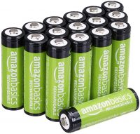 16-Pack AmazonBasics AA 2000mAh Rechargeable Batteries