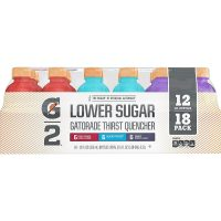 18-Count 12oz Gatorade G2 Thirst Quencher Low Calorie Variety Pack
