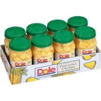 Dole Pineapple Chunks 23.5 Ounce Jars (Pack of 8) @Amazon $14.05