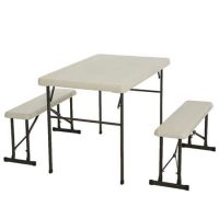 Sam's Club Members: Lifetime Folding Picnic Table with Benches