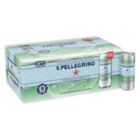 24-Pack 11.15oz. S.Pellegrino Sparkling Natural Mineral Water