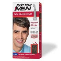 Just For Men Easy Comb-In Hair Color w/ Applicator Comb