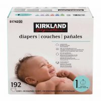 Costco Members: Kirkland Signature Diapers: 192-Ct Size 1 or 174-Ct Size 2