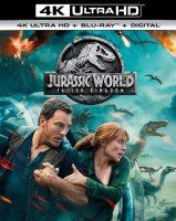 Jurassic World: Fallen Kingdom (4K UHD + Blu-Ray + Digital)