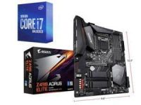 Gigabyte Z490 AORUS ELITE Motherboard + Intel Core i7-10700K 8-Core 3.80GHz CPU