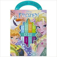 12-Book Set: Disney Frozen My First Library Board Book Set