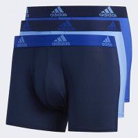 3-Pack adidas Men's Climalite Trunks Underwear (Various Colors)
