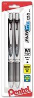 2-Pack Pentel EnerGel Deluxe RTX Liquid Gel Pen (0.7mm Black)