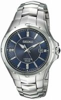 Seiko Men's Coutura Solar Watch w/ Stainless Steel Bracelet
