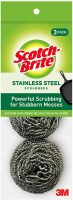 Scotch-Brite Stainless Steel Scrubbers 3 Pack Amazon.com $2.36