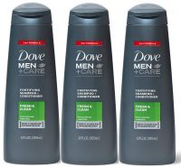 12-Oz Dove Men+Care Fortifying 2 in 1 Shampoo (Fresh & Clean)