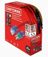 Craftsman 50-ft + 25-ft 12/3 3-Prong SJTW Heavy Duty General Extension Cord YMMV $13.38