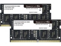 32GB (2 x 16GB) Team Elite 3200 MHz CL22 DDR4 SO-DIMM Laptop Memory