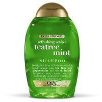 2-Count 13oz OGX Extra Strength Refreshing Scalp + Tea Tree Mint Shampoo
