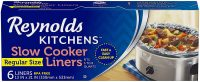 """6-Count Reynolds Kitchens Premium Slow Cooker Liners (13""""x21"""")"""