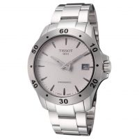 Men's Tissot T-Sport Automatic V8 Watch (Stainless Steel or Black Leather)