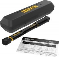 """LEXIVON Torque Wrenches: 3/8"""" 10~80 Ft-Lbs $24 1/4"""" 20~200 in-lbs"""
